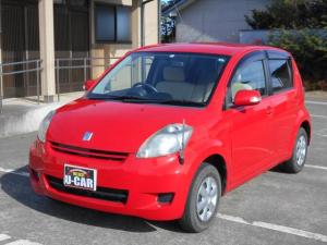 トヨタ パッソ X Fパッケージ チェーン車 CD キーレス