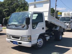 いすゞ エルフトラック ダンプ 全低床ダンプ 最大積載量2000kg クラッチフリー付