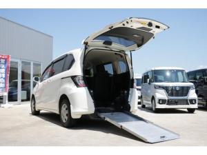 ホンダ フリード  X 車いす仕様車 左パワースライドドア スロープタイプ 2列シート 5人乗り 福祉車両 車いす電動固定装置 CVT ウォークスルー オートエアコン キーレス ABS エアバッグ