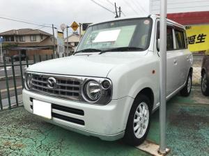 マツダ スピアーノ XS 軽自動車 ETC パールホワイト AT AC AW