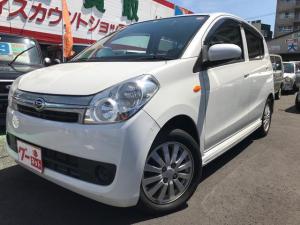 ダイハツ ミラカスタム X 軽自動車 パールホワイトIII CVT AC AW