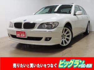 BMW 7シリーズ 740i ユーザー仕入 サンルーフ 純正19インチアルミ 3Dデザインフロントリップ ベロフLEDフォグ LEDイカリング 納車時タイヤ新品交換 リアワイドスペーサー