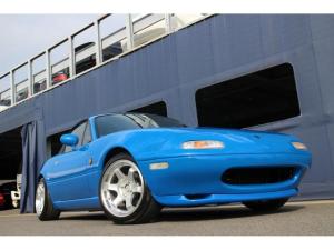 ユーノスロードスター ノーマルベース NA6C 5MT ネイビーガラス幌張替え済み TEIN車高調 タイミングベルト交換済み MOMOステアリング 純正同色オールペイント仕上げ 新品深リム15インチアルミホイール・新品タイヤ