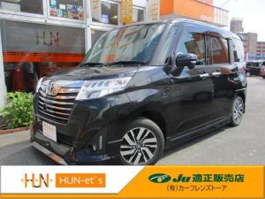 トヨタ ルーミー カスタムG S 社外SDナビ 全国12か月保証付