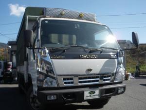 いすゞ エルフトラック 垂直ゲート 4t積み 荷台幌