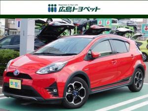 トヨタ アクア クロスオーバー ナビ&バックカメラ シートヒーター NanoE