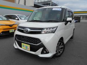 トヨタ タンク カスタムG-Tサポカー ターボ LEDヘッドライト