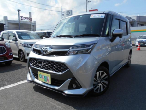 トヨタ タンク カスタムG S  ワンオーナー サポカー バックカメラ