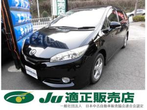 トヨタ ウィッシュ 1.8X 地デジナビ 禁煙 新品タイヤ 後期 全国ロング保証