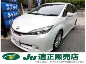 トヨタ ウィッシュ 1.8S 地デジHDDナビRカメラ 禁煙車 全国ロング保証