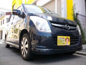 マツダ AZワゴン XSスペシャル Tベルチェーン式 プッシュスタート スマートキー オートエアコン ETC GOO鑑定車