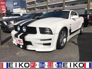フォード マスタング GT 5速MT 革シート ETC ナビ 社外マフラー