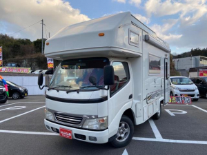 トヨタ カムロード キャンピング ディーゼルターボ ANNEX ソーラーパネル