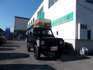 スズキ ジムニー 4WD ターボ AT 公認リフトアップ エアコン パワステ