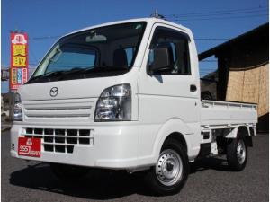 マツダ スクラムトラック KCエアコン・パワステ 4WD 5速マニュアル エアコン パワーステアリング ラジオ