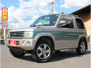 三菱 パジェロミニ スペシャルカラーエディション XR 4WD オートマ ルーフレール 15インチアルミ フォグランプ CDMD キーレス 車検令和5年7月20日まで