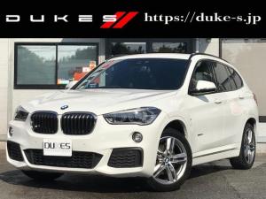 BMW X1 sDrive 18i Mスポーツ 純正ナビ 社外TVカロッツェリアBカメラ ミラーETC コンフォートアクセス