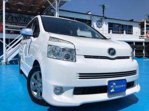 トヨタ ヴォクシー ZS 煌II 両側パワースライドドア HID スマートキー HDDナビ ETC DVD再生 バックカメラ