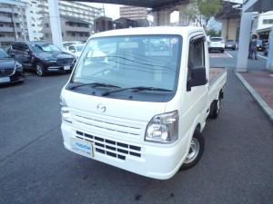 マツダ スクラムトラック KCエアコン・パワステ 5MT エアコン パワステ ABS エアバッグ 4WD 作業灯