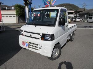 三菱 ミニキャブトラック  JAスーパーカスタム 4WD 5速 作業灯