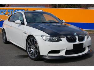 BMW M3 M3Mドライブ カーボンボンネット 白革シート エアロ