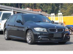 BMW 3シリーズ 320iツーリング Mスポーツパッケージ 純正ナビ 地デジ Bカメラ BBS RG-R17AW ローダウン 社外マフラー フロントリップスポイラー フロントLEDウインカー