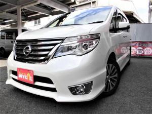 日産 セレナ ハイウェイスター Vセレクション+セーフティ SHV ワンオーナー車 安全装備搭載 ナビ・バックビューモニター ETC