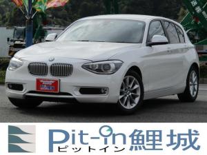 BMW 1シリーズ 116i スタイル 純正ナビ Bカメラ ETC HID 純正16インチアルミ