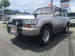 トヨタ ランドクルーザー80 VXリミテッド LPK 500台限定車 革シート 社外アルミ
