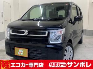 スズキ ワゴンR ハイブリッドFXセーフティーセンス 新品ナビ サポカー補助金