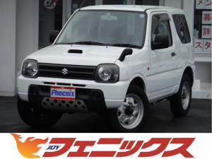 スズキ ジムニー XG切替4WD5速MTナビABSキーレスDVD再生ICターボ