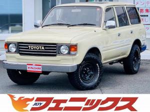トヨタ ランドクルーザー80 VX 1ナンバー登録・4WD・サンルーフ・丸目フェイス・フルセグナビ・ETC・DVD再生・Bt&SD接続・メッキミラー・社外ホイール