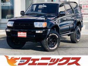 トヨタ ハイラックスサーフ SSR-X ワイド ディーゼルターボ リフトアップ メモリーナビ フルセグ Bt・USB接続 バックカメラ 黒革調シートカバー サイドステップ 背面タイヤ ETC キーレス 16インチアルミ