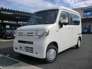 ホンダ N-VAN L・ホンダセンシング 4WD 6MT USB 届出済未使用車