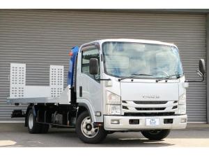 いすゞ エルフトラック 積載車 タダノS-RIDE全接地 6速MT 3t ナビ