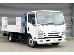 いすゞ エルフトラック 積載車 1オーナー タダノS-RIDE全接地 6速 2.8t