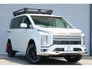 三菱 デリカD:5 G パワーパッケージ  eアシスト 両パワスラ 4WD 登録済未使用車 JAOSオプション LEDライト パワーバックドア