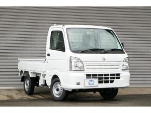 スズキ キャリイトラック KCエアコン・パワステ 最新型 届出済未使用車 5MT 4WD エアコン パワステ