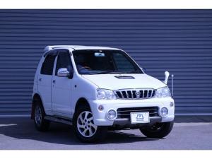 ダイハツ テリオスキッド X 4WD ターボ 4AT 絶版車 絶版車 4WD ターボ 4AT 社外ナビ ABS