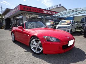 ホンダ S2000 ベースグレード ワンオーナー ローダウン 社外マフラー 新品純正幌 タイヤ4本新品