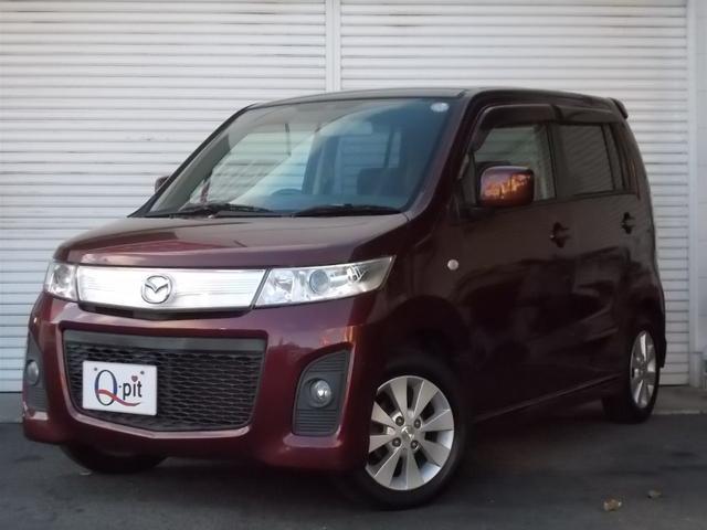 ユーザー買取車 AZワゴンカスタムスタイルXS新入荷 プッシュスタート・スマートキー・純正アルミホイール
