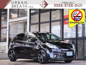 トヨタ ヴィッツ RS G's ・禁煙車・社外HDDナビ・フルセグ・ETC・HID・社外17AW・社外シフトノブ・革巻きステア・パドルシフト・社外Rスポ・ダウンサス・Rフォグ・Mウィンカー・DVD再生・Bluetooth接続