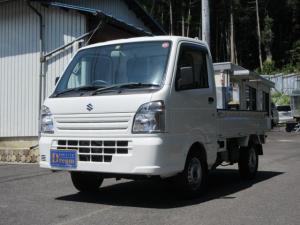 スズキ キャリイトラック KCエアコン・パワステ 4WD 5速MT エアコン パワステ ラジオ 荷台マット