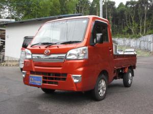 ダイハツ ハイゼットトラック エクストラSAIIIt 4WD 衝突軽減システム キーレス AW 5速MT エアコン パワステ  パワーウィンドウ