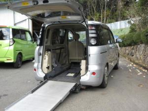 トヨタ シエンタ X ウェルキャブ車 車いす仕様車 スロープタイプ 両側スライドドア キーレス