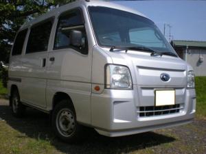 スバル サンバーバン トランスポーター エアコン パワステ エアバッグ キーレス 2WD