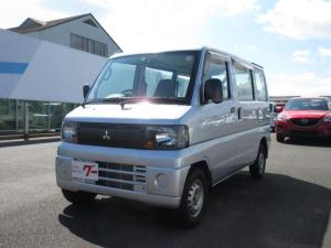 三菱 ミニキャブバン CD 4WD 5速MT エアコン パワステ Wエアバッグ