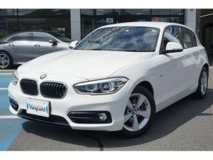 BMW 1シリーズ 118i スポーツ コンフォートパッケージ/ライト・ストレージパッケージ・ パーキングサポートパッケージ/リアビューカメラ・パークディスタンスコントロール 純正HDDナビゲーション 衝突軽減ブレーキ LEDヘッドライト