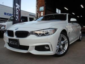 BMW 4シリーズ 420iクーペ Mスポーツ 禁煙車 黒革シート SR 純正HDDナビ Bカメラ ETC コンフォートアクセス HID 18AW CD クリアランスソナー  レーンアシスト パドルシフト Bluetooth接続 衝突軽減B ターボ