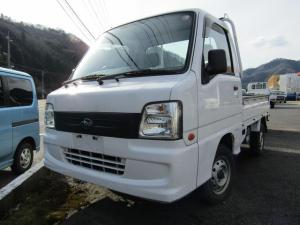 スバル サンバートラック エアコン パワステ 5MT 4WD